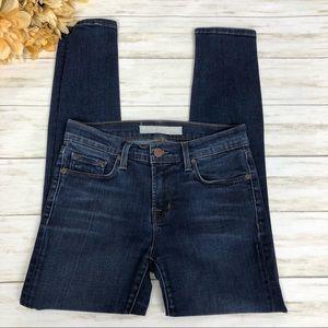 J Brand Capri Skinny Jeans Dark Vintage Wash